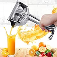 RYLAN Stainless Steel Manual Fruit Juicer Hand juicer, Fruit juicer Manual juicer Instant juicer Orange juicer, Steel…