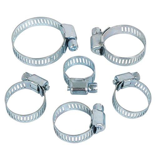 trixes-sortiment-aus-34-langlebigen-und-verstellbaren-schlauchklemmen-schellen-unterschiedlicher-gro