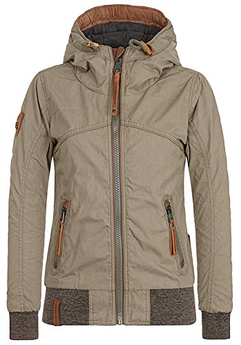 Naketano Female Jacket Pallaverolle, Olive, L