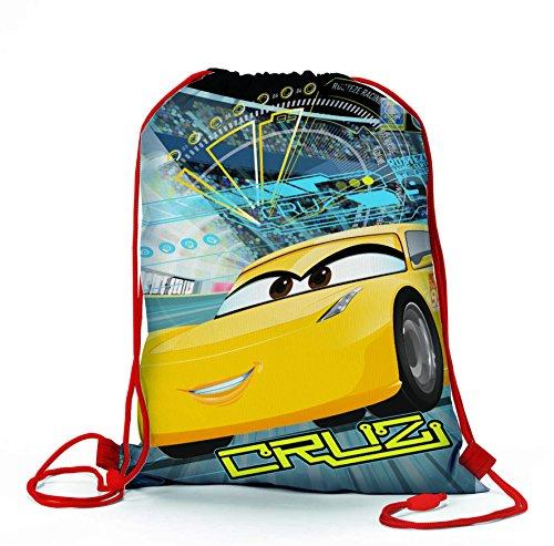 Coriex Kinder Contest Disney Cars Sporttasche, Mehrfarbig, M