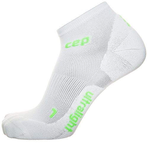 CEP Herren Ultralight Low Cut Men Socken, Weiß, IV (Herren-socken Cut Low)
