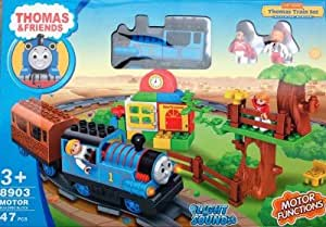 Jaibros Thomas And Friends 47 Pcs Big Train Set With Lights And Sounds (Medium Size Track)