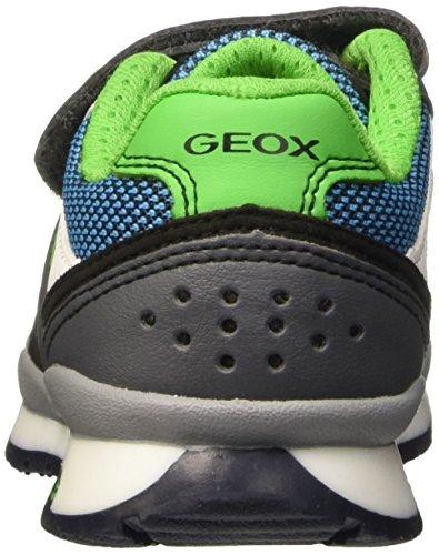 Geox Jungen J Pavel B Pumps Grigio (Dk Grey/Green)