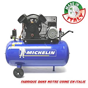compresseur michelin 100 litres 3 cv 10 bars bricolage. Black Bedroom Furniture Sets. Home Design Ideas