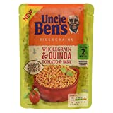 Uncle Ben's Rice & Grains Wholegrain & Quinoa Tomato & Basil Microwaveable Rice, 220g