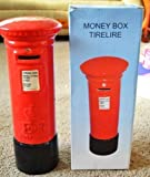 Giant Red and Black Authentic Royal Mail Ceramic Pillarbox Post box