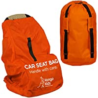 Car Seat Bag - Make Travel Easier and Save Money . Ultra Durable Travel Accessories - Protect your Child's CarSeat and Stroller from Germs and Damage. Easy to Carry Padded Backpack- Compatible with most Brands.