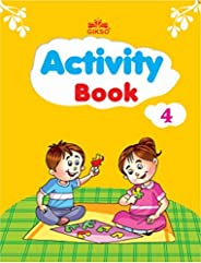 GIKSO Activity Book – 4 for Kids Age 6-8 Years Old (English)