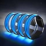 4 Stück LED Armband