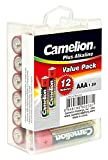 Camelion 11111203 Plus Alkaline Batterie (LR03/AAA/Micro, 12er-Pack) chrom