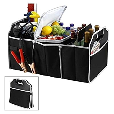 New Car Boot Organiser For Picnic Party Shopping Heavy Duty Collapsible Foldable
