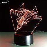 Fornitura di luce notturna per aeromobili vision aeromobili corazzata lampada da tavolo lampada spray decorazione domestica lampada da comodino decorazione regalo
