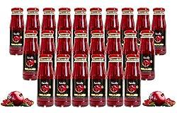 24 Fl. x 250 ml Saville Granatapfel Direktsaft / 100% Granatapfelsaft / Muttersaft / Grenade juice