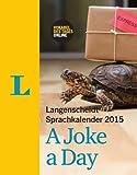 Langenscheidt Sprachkalender 2015 A Joke a Day - Kalender