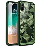 SUPCASE Coque iPhone X Coque iPhone XS, Coque Transparente Anti-Choc de Protection...