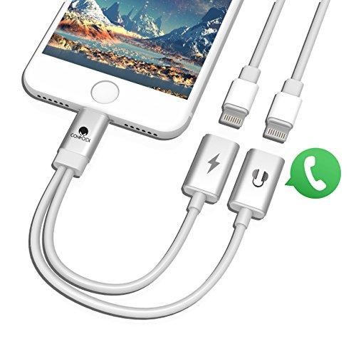 iPhone 7 Plus Audio Ladeadapter CONMDEX Aluminium
