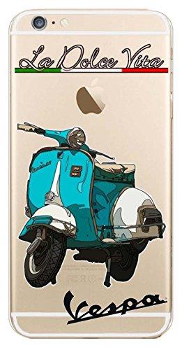 Blitz® Superhéros motifs housse de protection transparent TPE caricature iPhone Manhatten M16 iPhone 7PLUS La Dolce Vita M1