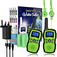 Wishouse Kids Walkie Talkies Rechargeable