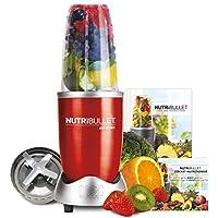 NutriBullet 600 Series Blender, 600 W, Starter Kit, 5-Piece Set, Red