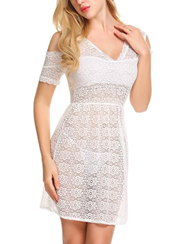 Kleid transparent amazon