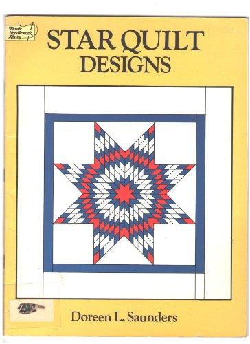 Star Quilt Designs (Dover Needlework Series) (Star Quilt Designs)