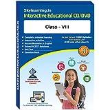 Skylearning CBSE Class 8 CD/DVD Combo Pack