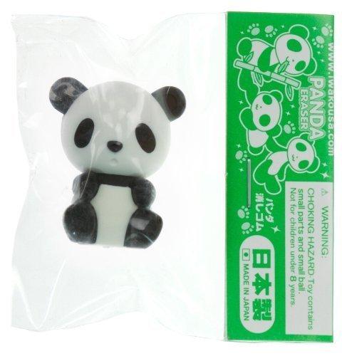 Schwarz Panda ~ 1 'Mini-Radiergummi: Sammler Panda Radiergummi-Serie (Japanese Import)
