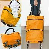 Flying Birds Lightweight Shopping Trolley Wheel Folding Travel Luggage Bag