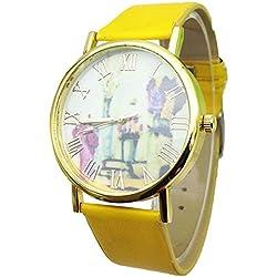 SSITG Women's Watch Women Watch Figurine Roman Numerals Analogue Quartz Leisure Wrist Watch Gift