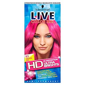 Schwarzkopf Live Color XXL Coloration pour cheveux Ultra Brights Rose fuchsia 93