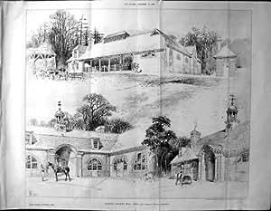 Stalle 1894 di architettura del costruttore bickley for Costruttore di casa gratuito