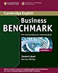 Business Benchmark Second edition is the official Cambridge English preparation course for Cambridge English: Business Preliminary, Vantage and Higher (also known as BEC), and BULATS.  A pacy, topic-based course with comprehensive coverage of languag...
