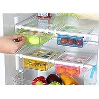 Cajones deslizantes de almacenamiento de plástico multifunción para nevera  o congelador 53a8c766103a