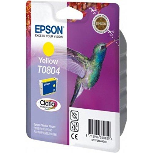 Preisvergleich Produktbild Epson original - Epson Stylus Photo RX 585 (T0804 / C 13 T 08044021) - Tintenpatrone gelb - 220 Seiten - 7,4ml