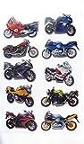 Motocicleta, Moto, Scooter Adhesivos Para Niños, niños Para Fiestas...
