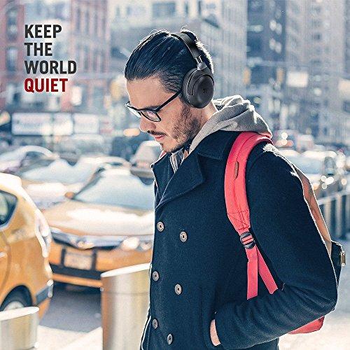 TaoTronics Active Noise Cancelling Kopfhörer aptX Bluetooth Kopfhörer ANC 22 Stunden Wiedergabezeit, aptX Audio in CD-Qualität, Geräuschunterdrückende kabellose Kopfhörer mit CVC 6.0 Mikro - 2
