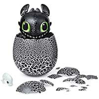 Dreamworks Dragons 6046183 Hatching Toothless Interactive Baby Dragon with Sounds, for Kids Aged 5 and Up, Multicolour