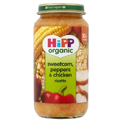 HiPP Organic Sweetcorn, Peppers & Chicken Risotto 250g
