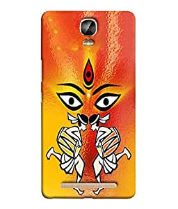 Fuson Designer Back Case Cover for Gionee Marathon M5 Plus (lines square box art artistic)