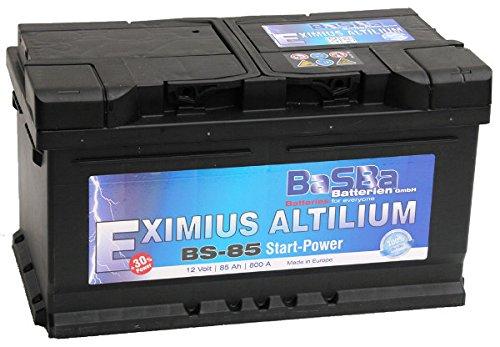 Batteria per auto, 12 V, 85 Ah, BS-85