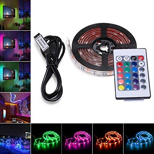 LED Tira de TV, AVAWAY 2M USB Tira de LED Luz Ambiente...