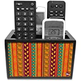 Nutcase Designer Wooden Remote Control Holder Stand Organizer for TV/AC Remote - Ethnic Designer