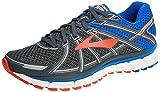 Brooks Defyance 10, Zapatillas de Running Para Hombre, Multicolor (Ebony/Blue/Orange 1d025), 44.5 EU