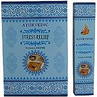 Räucherstäbchen 180g Ayurvedic Stress Relief Masala Incense 12 Schachteln zu je 15g Raumduft Wohnaccessoire preisvergleich bei billige-tabletten.eu