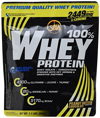 Whey-chocolate Peanut Butter (All Stars 100% Whey Protein, Peanut Butter Chocolate)