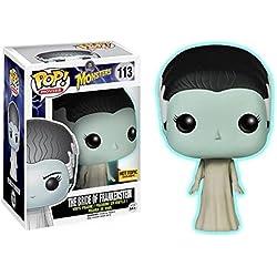 Funko - Figurine Classic Monsters - Bride of Frankenstein Glow in the Dark Pop 10cm - 0849803046538