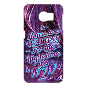 a AND b Designer Printed Mobile Back Cover / Back Case For Samsung Galaxy S6 Edge (SG_S6_3D_2307)