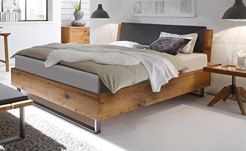 Hasena Oak Wild Wildeiche Bett Füße Indus Kopfteil Sion 180x200 -