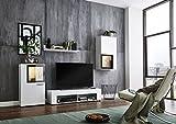 BMG Möbel Wohnwand Schrankwand Wohnzimmerschrank Mediawand Anbauwand TV-Element Orlando in