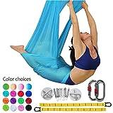 E-Bestar Aerial Yoga Hammock Set Anti-Schwerkraft Yoga Swing elastische Yoga Hängematte Keine Nähte Aerial Silks